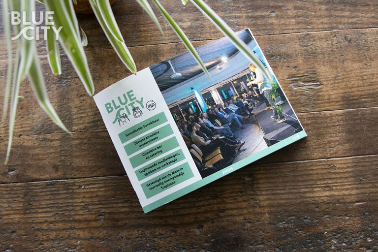bluecity event locatie brochure